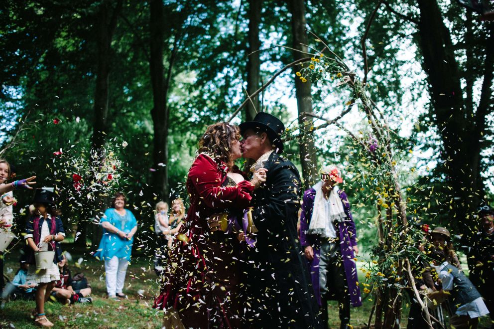 Woodland Weddings in Devon