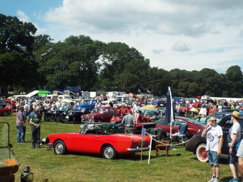 Classic Car Show Powderham Castle The Home Of Devon - Classic car show today near me