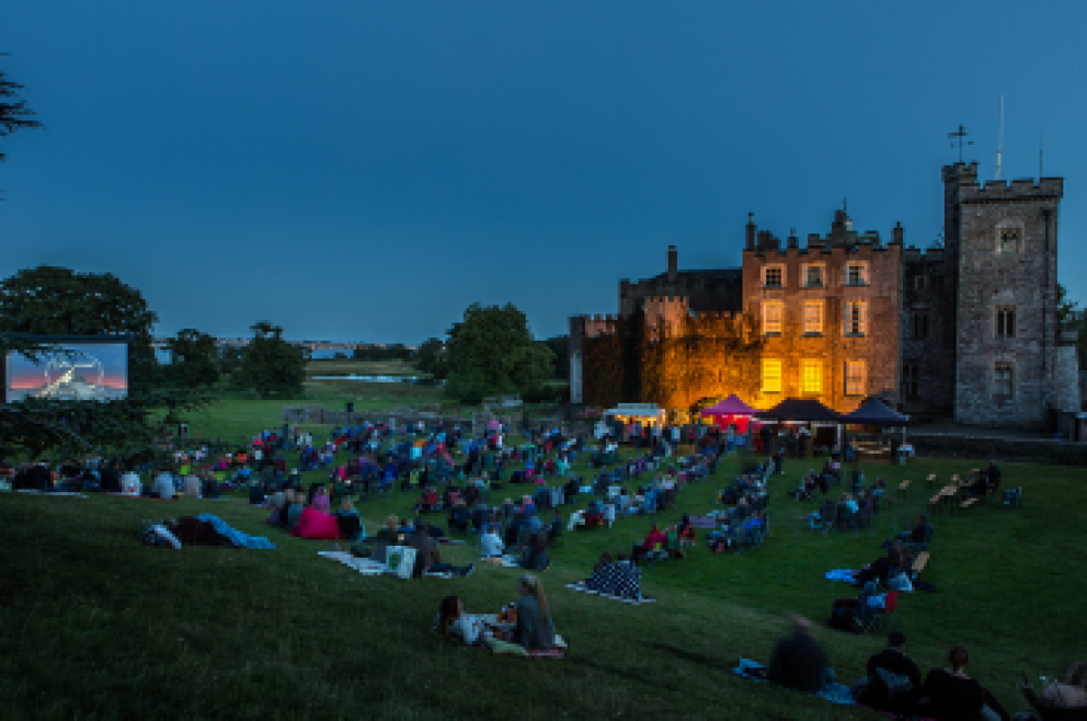 Outdoor Cinema - Powderham Castle