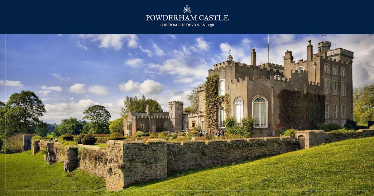 Devon Weddings At Powderham Castle Powderham Castle